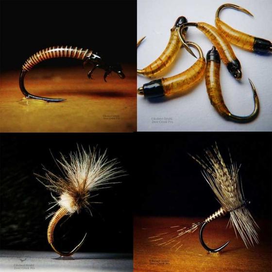 Deer Creek Flies by Robert Strahl